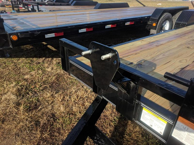 2019 PJ Trailers 20 FT 6 in. Channel Equipment (CC) Flatbed Trailer