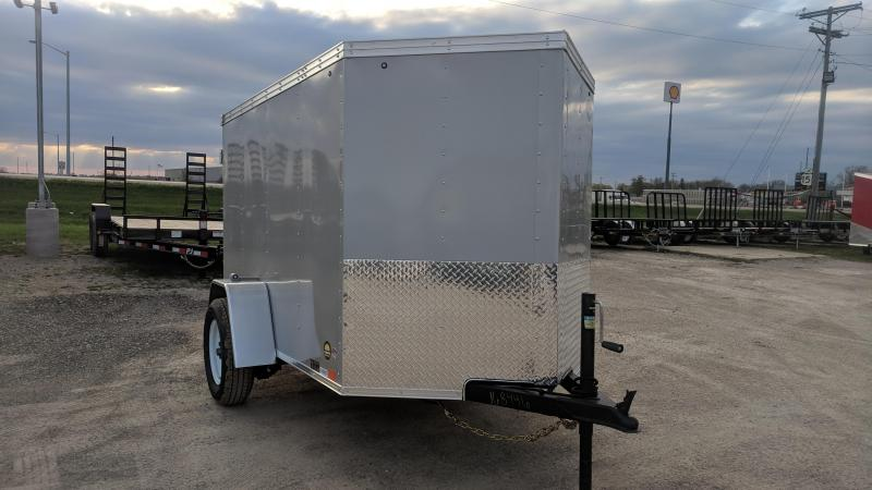 2020 United Trailers XLV 5 x 8 ft. Enclosed Cargo Trailer