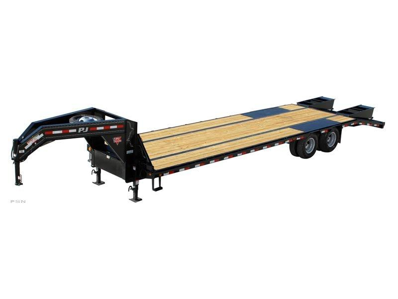 2019 PJ Trailers Low-Pro Flatdeck with Duals (LD) Flatbed Trailer 32'