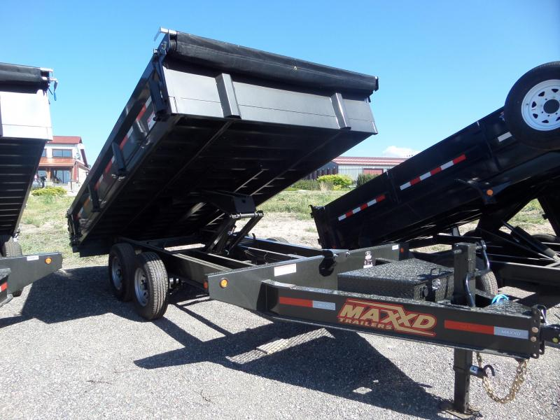 "2019 Maxxd Trailers D9X 14' x 96"" Deck-Over Dump Trailer in Ashburn, VA"