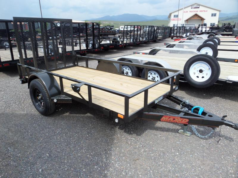 2020 MAXXD S3X - Angle Single Axle Utility Trailer
