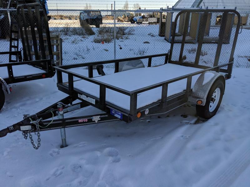 """2010 PJ Trailers Single Axle Utility (U6) 60"""" x 10'"""