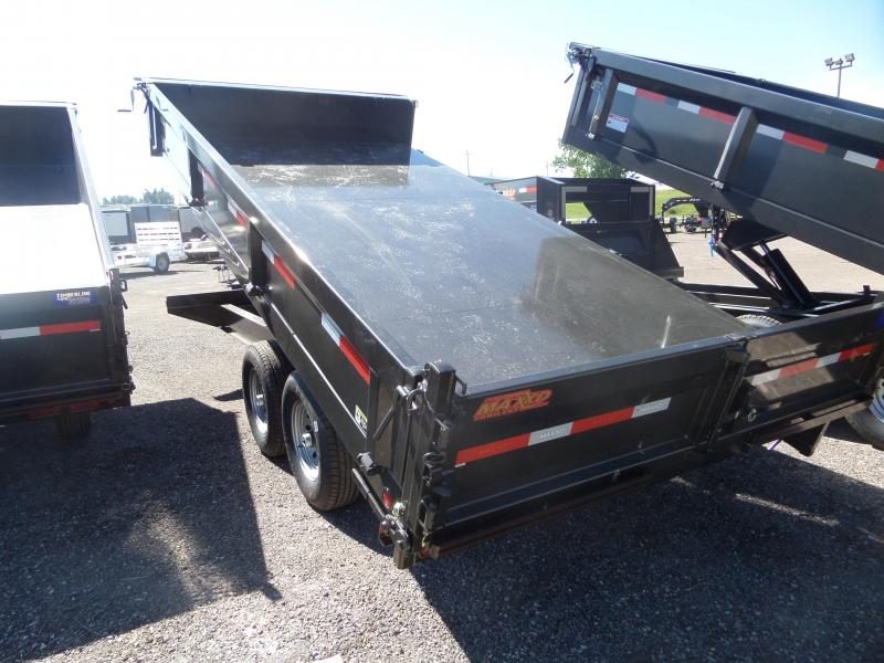 "2019 Maxxd Trailers D9X 16' x 96"" Deck-Over Dump Trailer"