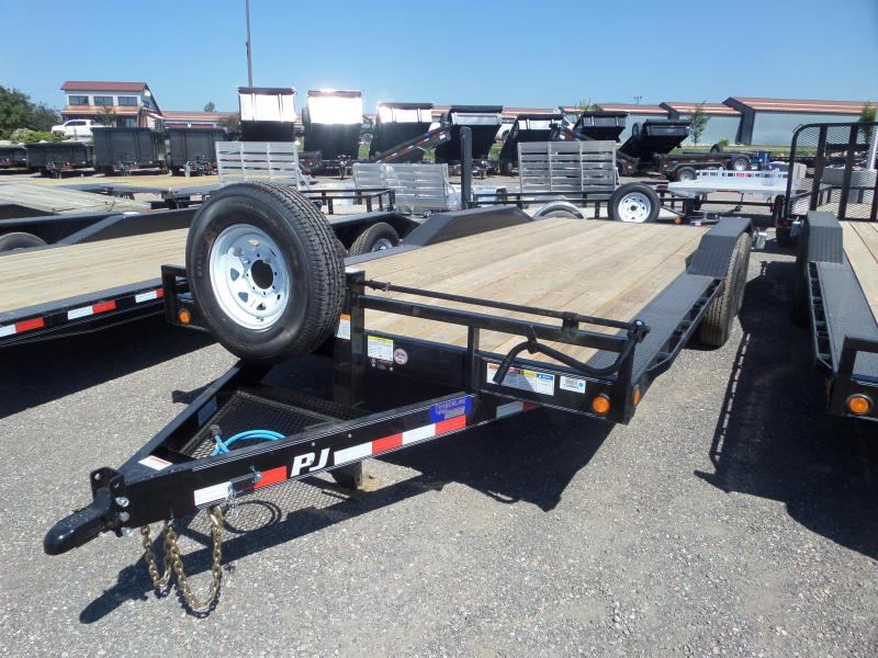 "2019 PJ Trailers 6"" Channel Super-Wide (B6) 20'"