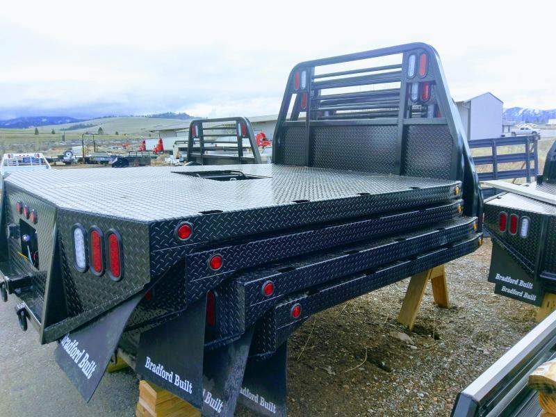 2018 Bradford Built Mustang Bed Timberline Trailer Missoula Mt