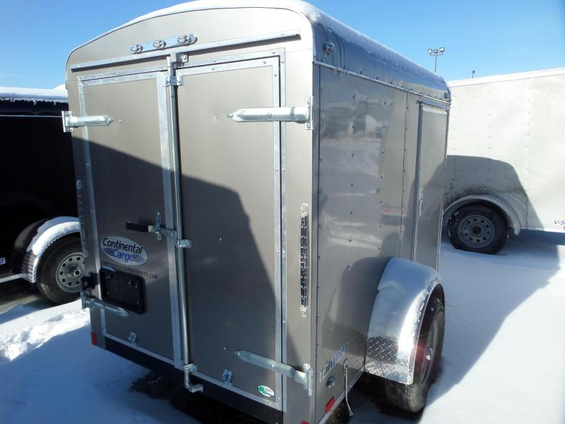 2019 Continental Cargo Tail Wind 5 x 8 Enclosed Cargo Trailer