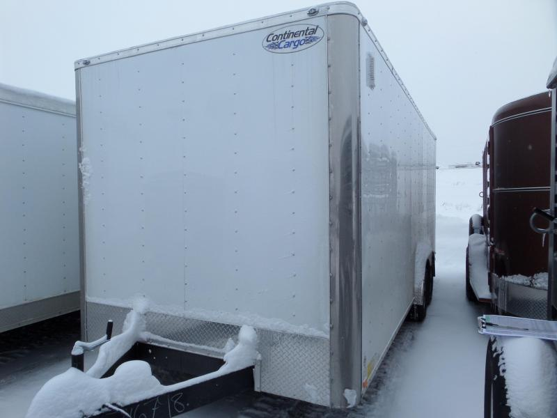 2019 Continental Cargo V-Series 8 x 20 Enclosed Cargo Trailer
