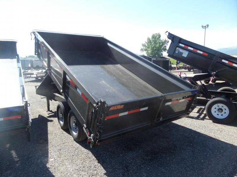 "2019 Maxxd Trailers D9X 14' x 96"" GN Deck-Over Dump Trailer"