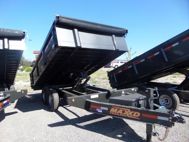 "2019 Maxxd Trailers D9X 14' x 96"" Deck-Over Dump Trailer"