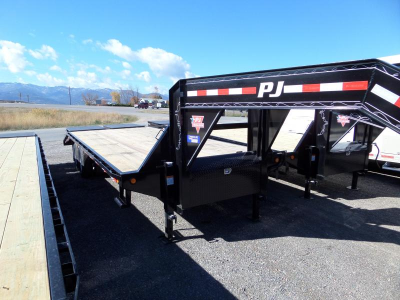 2019 PJ Trailers Classic Flatdeck with Duals (FD) 25'
