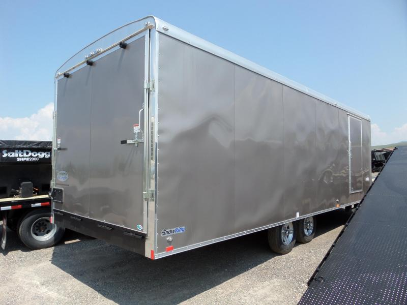 2019 Continental Cargo SK8524TA2 Snowmobile Trailer