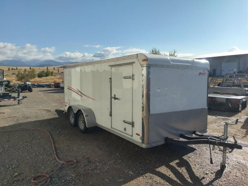 2006 Pace American Motorcycle Trailer Enclosed Cargo 7 x 16