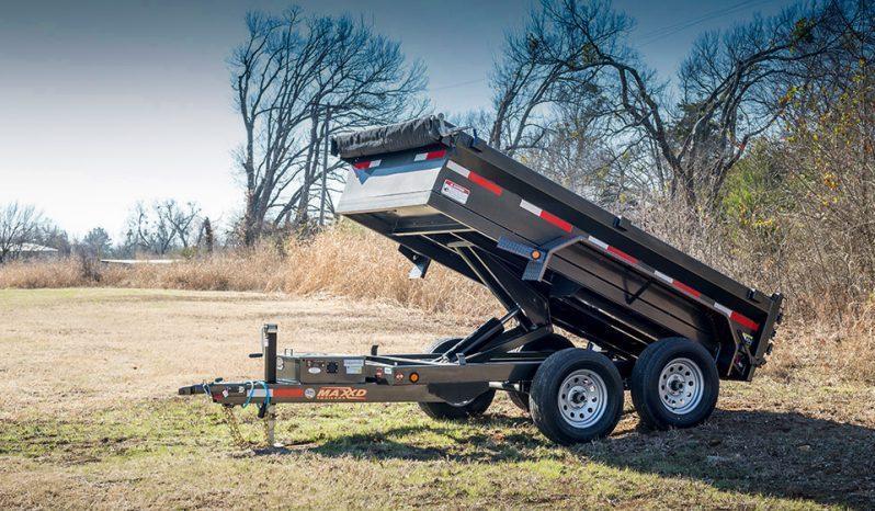 2019 MAXXD D6X - 60 Scissor Lift Dump Dump Trailer