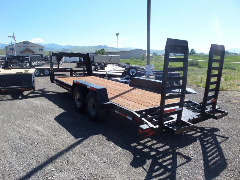 2006 Hillsboro Industries 422-2X-BT Equipment Trailer