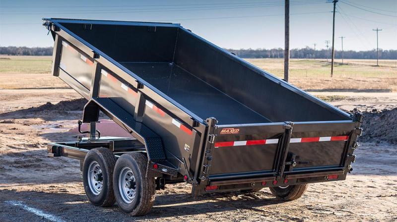 "2019 MAXXD D8X - 83"" x 14' Heavy Duty Dump Trailer"