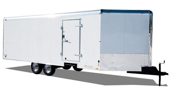 2019 Continental Cargo SK8524TA2 Snowmobile Trailer