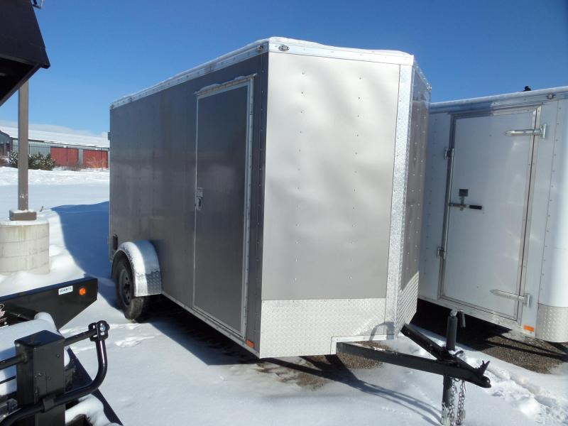 2019 Continental Cargo V-Series 6 x 12 Enclosed Cargo Trailer