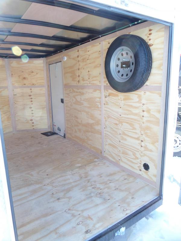 2019 Continental Cargo V-Series 6 x 12 Enclosed Cargo Trailer