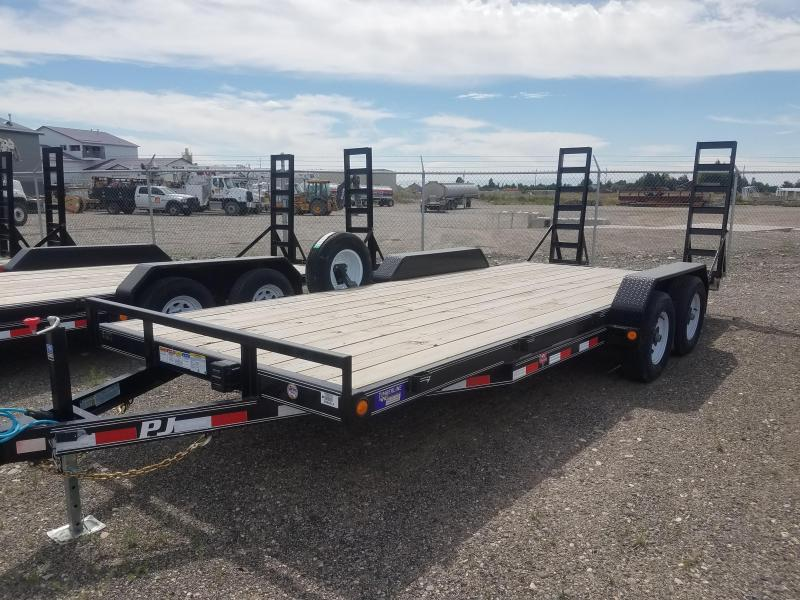 2019 PJ Trailers 5 in. Channel Equipment (CE) Equipment Trailer