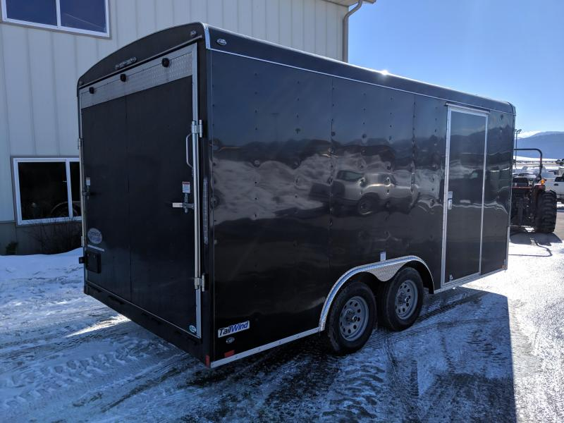 2019 Continental Cargo Tail-Wind 8 x 16 Enclosed Cargo Trailer