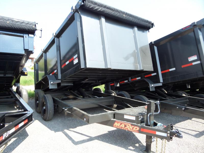 2019 MAXXD D8X - 83 Heavy Duty Dump Dump Trailer in Ashburn, VA