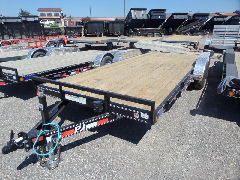 "2019 PJ Trailers 5"" Channel Equipment Hauler (CE) 20'"