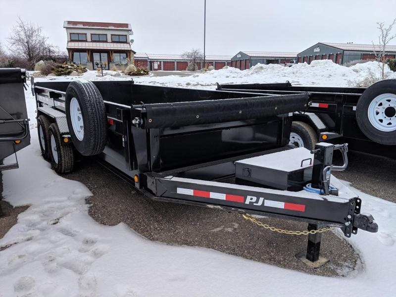 "2019 PJ Trailers 83"" x 16' Low Pro Dump (DL)"