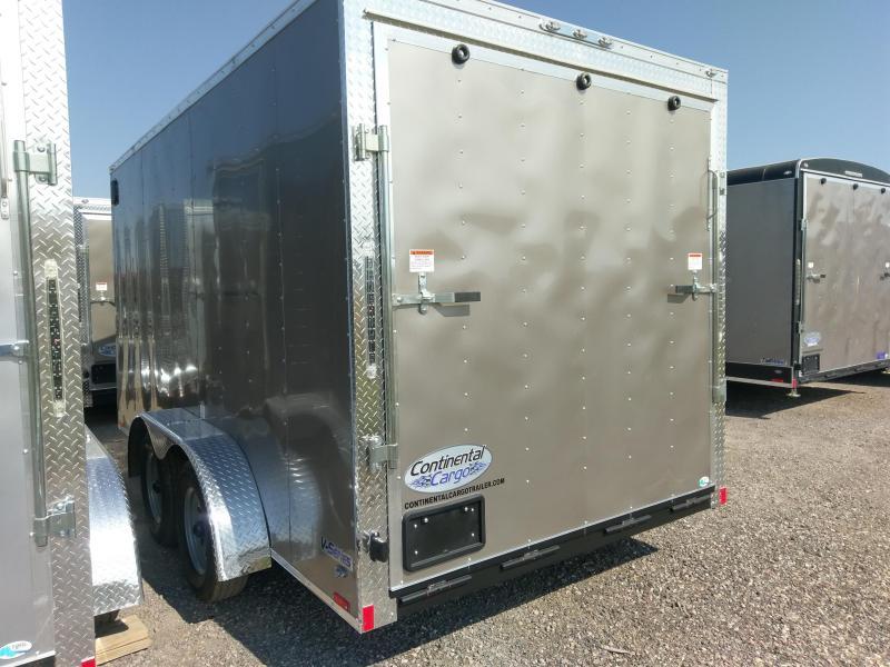 2019 Continental Cargo VH-Series 7 x 14 Enclosed Cargo Trailer