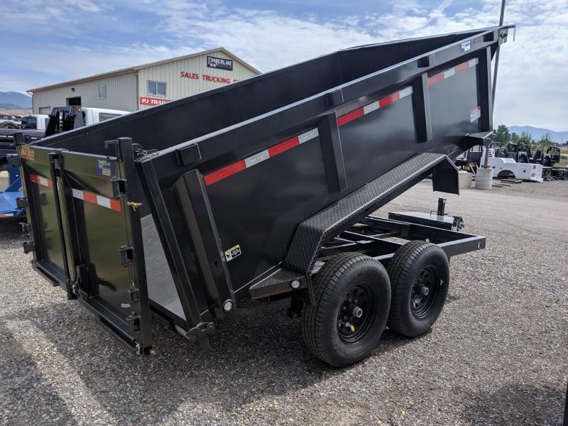 "2019 MAXXD D7X - 72"" Dump Trailer Dump Trailer"