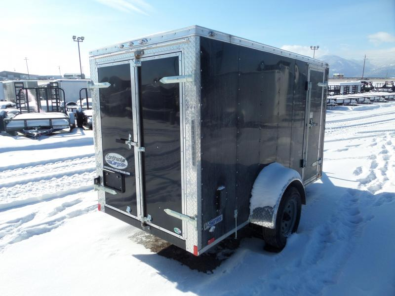 2019 Continental Cargo V-Series 5 x 10 Enclosed Cargo Trailer