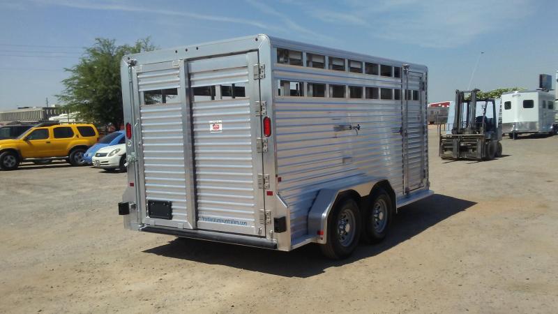 """2017 Frontier Livestock Trailer BP 16'7"""""""