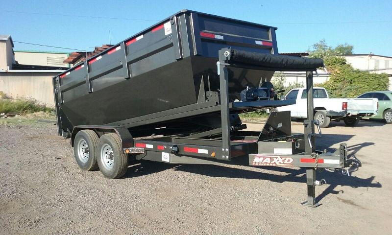 MAXXD ROLL OF DUMP TRAILER BP
