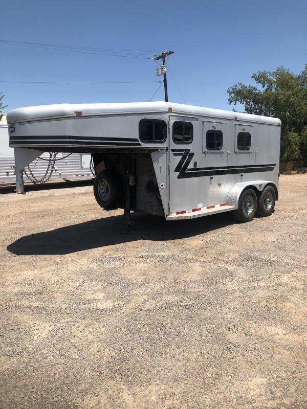 2008 Jackson Horse Trailers 2008 JACKSON 2H GN Horse Trailer