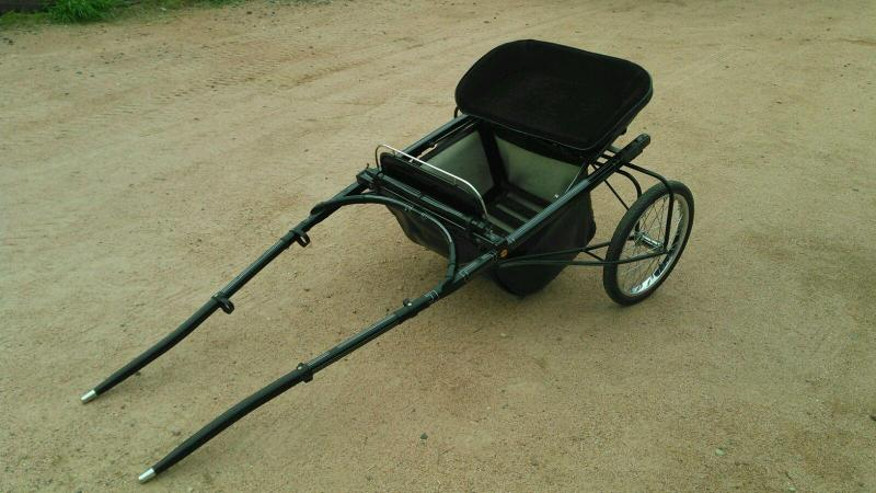 2006 HOUGHTON HORSE CART FOR MINIS COMPLETE WITH HARNESS BRIDLE AND MYLER BIT in Ashburn, VA