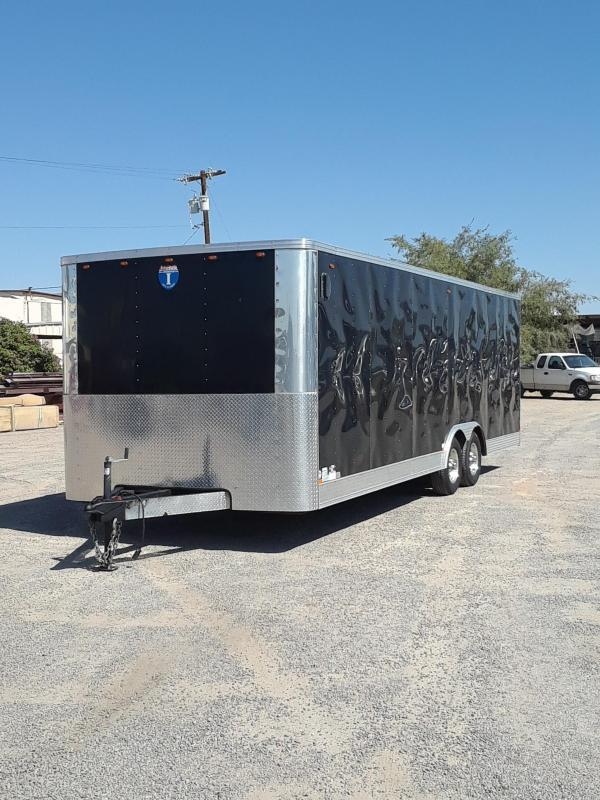 2013 INTERSTATE CARGO ENCLOSED TRAILER 24'X8'