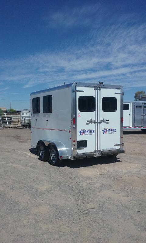 2017 Frontier Strider 2h Bp Horse Trailer Near Me