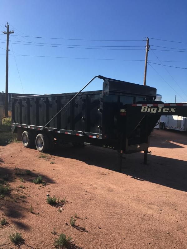 2016 Big Tex Trailers 25 DU-20 HD Dump Trailer 4' SIDES