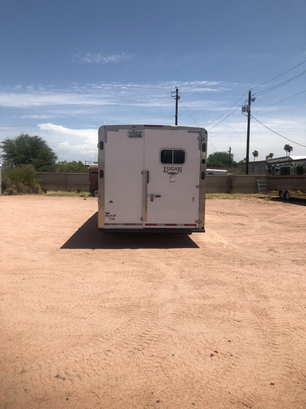 2012 Logan Coach EDGE 3H 810 LQ W/ SLIDE Horse Trailer