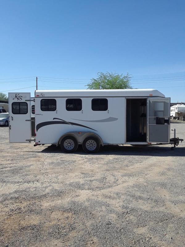 2006 Kiefer Built EAGLE XLA Horse Trailer