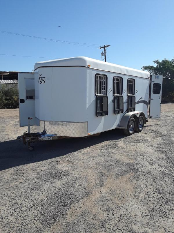 2006 Kiefer Built EAGLE XLA Horse Trailer