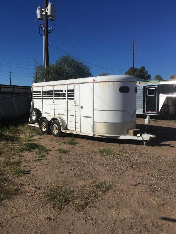 1994 W-W Trailer 4 HORSE SLANT BP Horse Trailer in Ashburn, VA