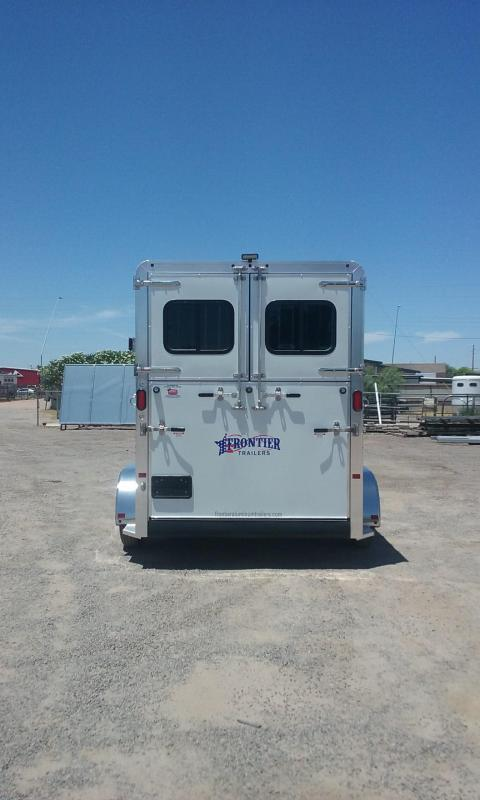 2017 Frontier AMBASSADOR WARMBLOOD 67 SERIES Horse Trailer