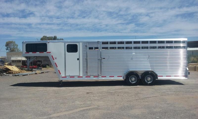 2017 Frontier STOCK COMBO 24' Livestock Trailer in Ashburn, VA