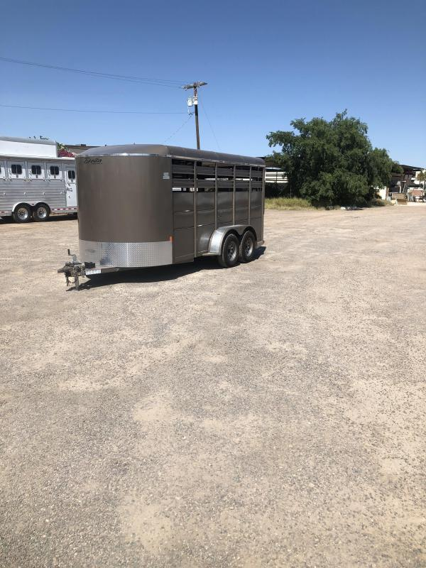 2019 Delta Manufacturing 2019 DELTA 16 STOCK TRAILER Livestock Trailer