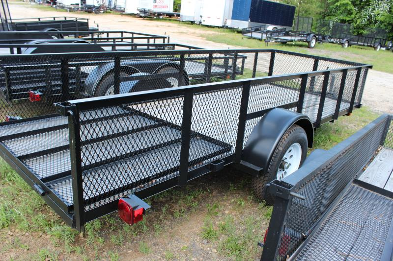 CARRY-ON 5X14 GWHS  flatbed utility trailer with high sides in Roopville, GA