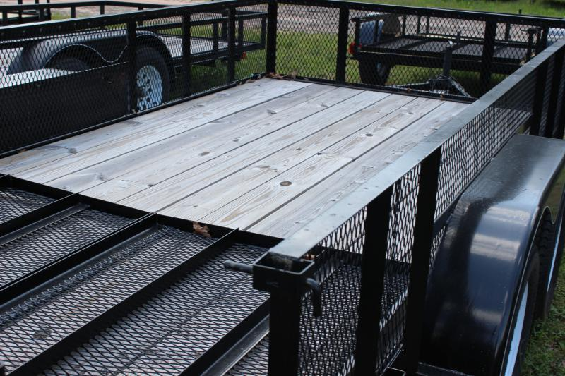 CARRY-ON 7X14 GWHS flatbed utility trailer in Sharpsburg, GA