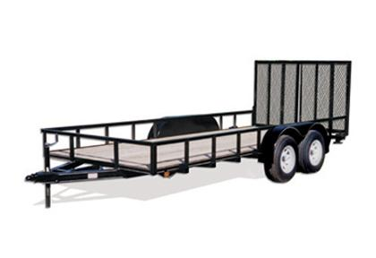 CARRY-ON 6X14 GW2BRK flatbed utility trailer in Ashburn, VA