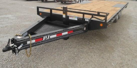 "2018 PJ Trailers 20' x 8"" I-Beam Deckover Trailer in Ashburn, VA"