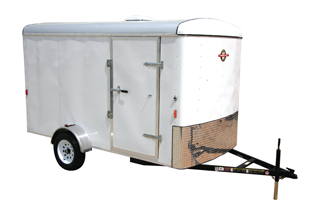 CARRY-ON 6X12 CGR enclosed cargo trailer in Roopville, GA