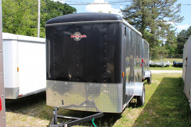 Black CARRY-ON 6X12 CGR  Enclosed Cargo Trailer  in Plum Branch, SC